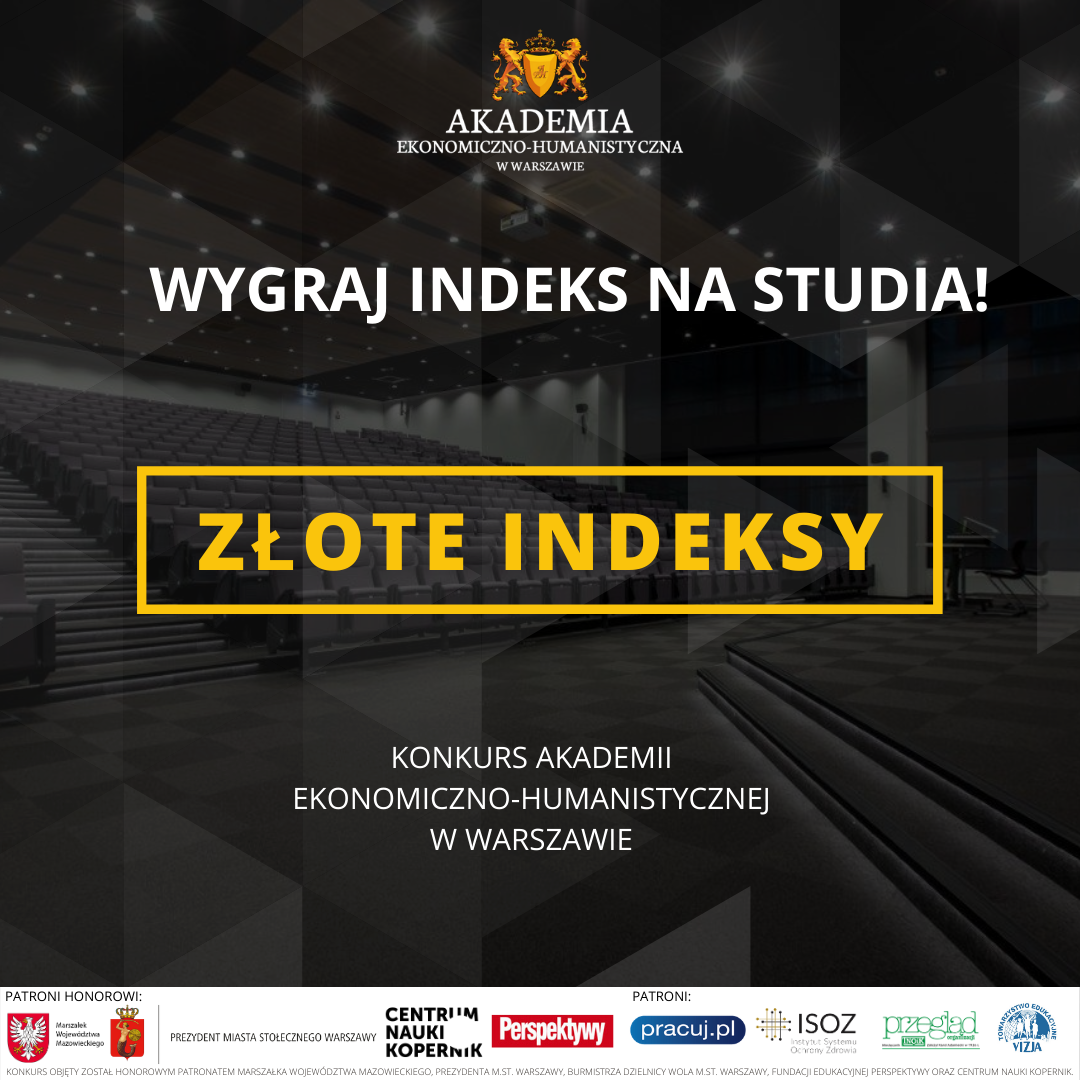 Zlote Indeksy grafika social media